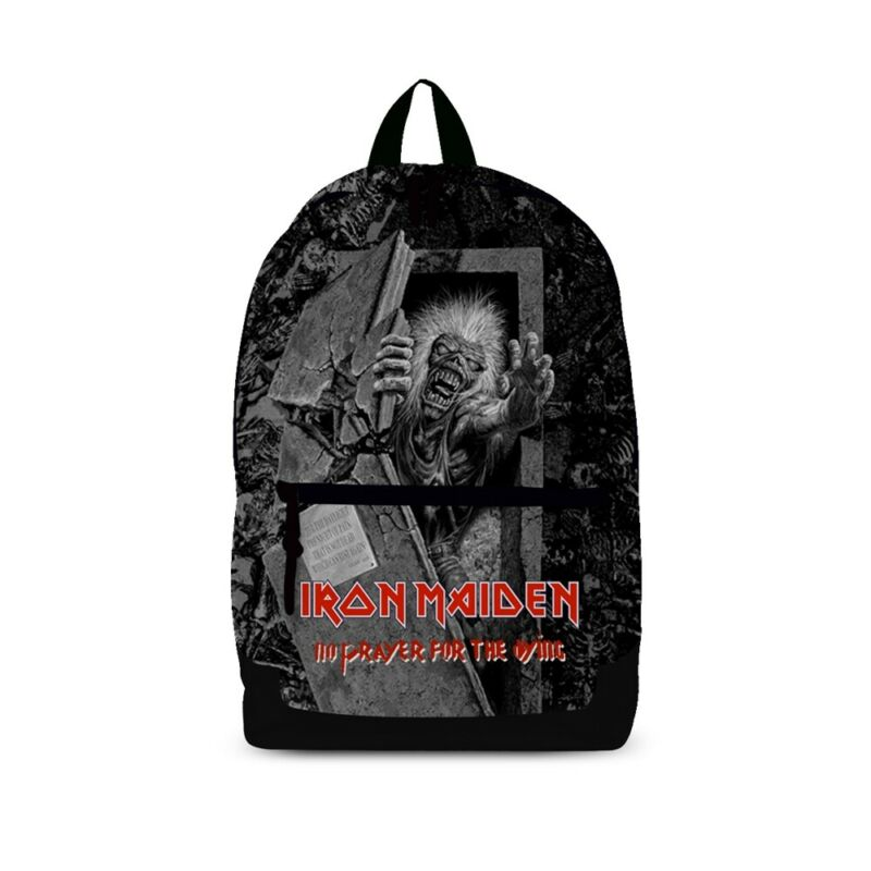 Nice Iron Maiden 'no Prayer For The Dying' Rucksack - New Official Back Pack