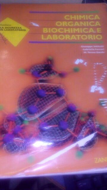 CHIMICA ORGANICA BIOCHIMICA E LABORATORIO - 8808095231  - ZANICHELLI