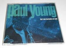 PAUL YOUNG - THAT'S HOW HEARTACHES ARE MADE - DELETED 1994 UK CD SINGLE