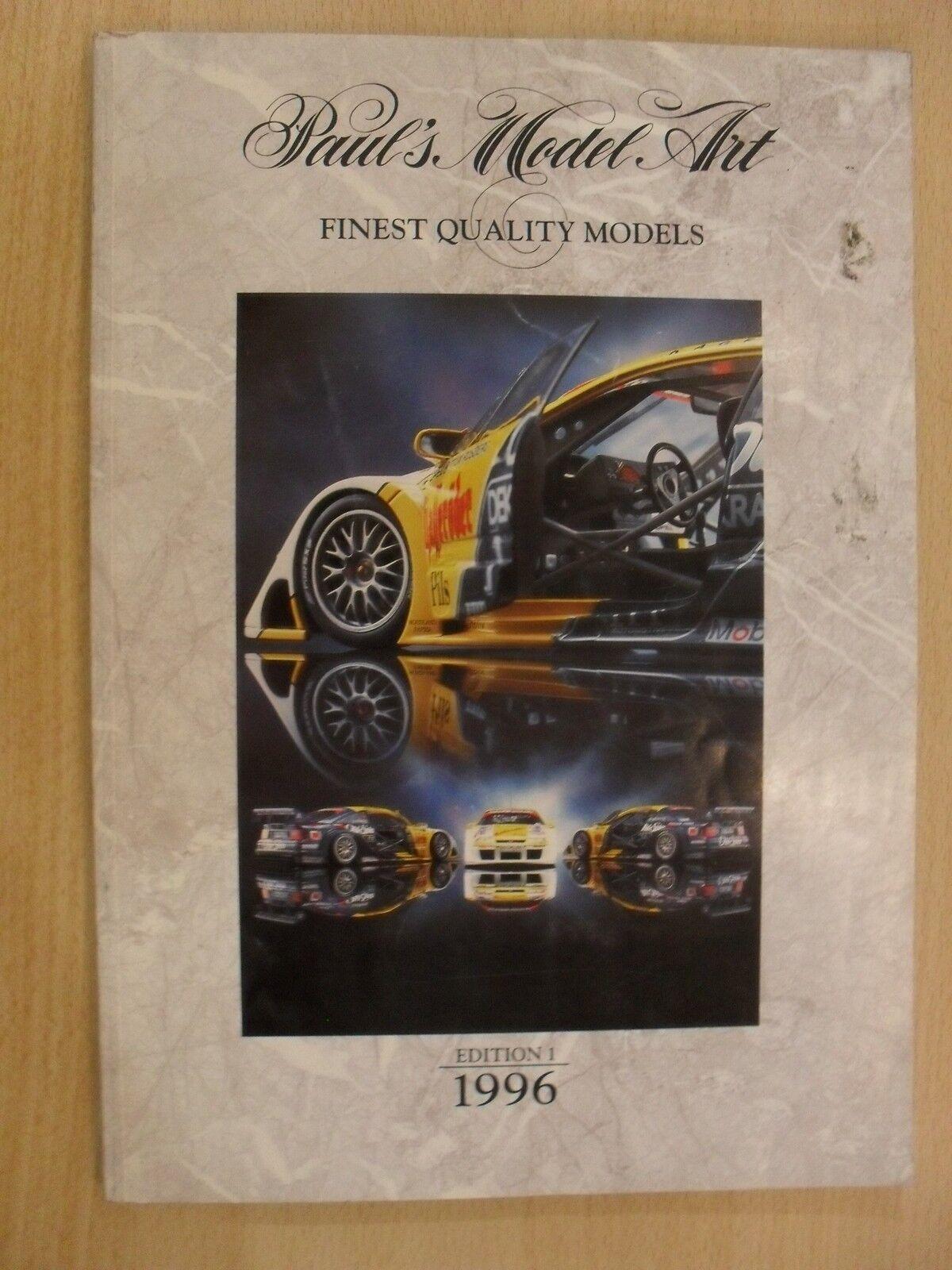 PAUL'S MODEL ART - FINEST QUALITY MODELS - EDITION 1 1996