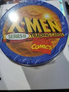 NEW-1993-Marvel-X-Men-Uncanny-Series-2-Factory-Sealed-Master-Set-Tin