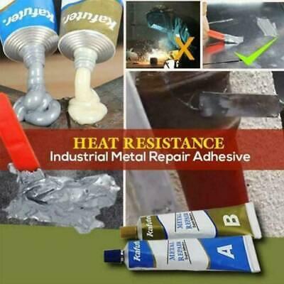 1 Industrielle hitzebeständige Kaltschweißmetall-Reparaturpaste A /& B-Klebeset