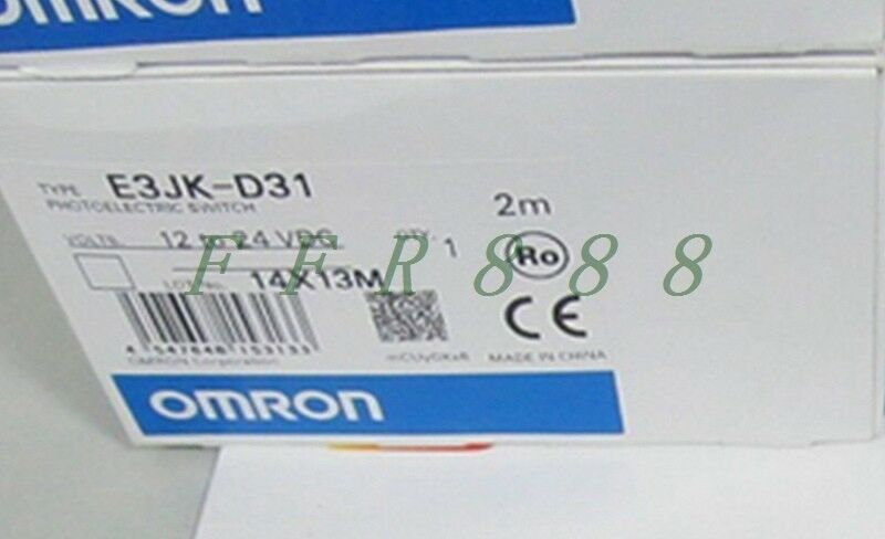NEW Omron photoelectric switch E3JK-D31