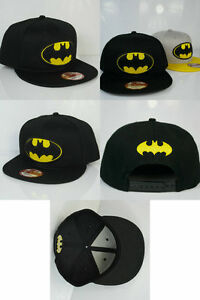NEW-Kim-Jong-Koo-BATMAN-BLACK-SNAPBACK-Unisex-baseball-KPOP-CAP-HAT-Running-man