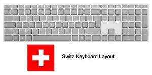 Microsoft Surface Wireless Bluetooth Switz Lux Keyboard - Swiss Version