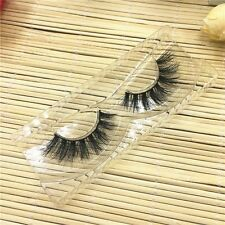 Thick Mutilayers False Eyelashes 100% Real 3D Mink Fur Eye Lashes Extension