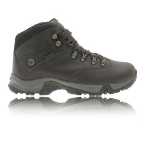 Hi-Tec Ottawa Wp Hommes Marron Trail Chaussures De Marche Randonnée Sport Bottes