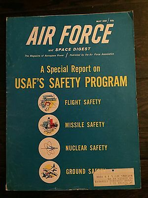 AIR FORCE and SPACE DIGEST May 1961 - 142 Page magazine