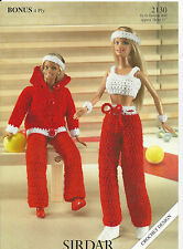 CROCHET PATTERN Fashion DOLLS CLOTHES 11 inch / 28 cm DOLL OUTFIT