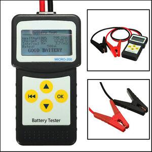 12v car auto battery load tester vehicle battery analyzer. Black Bedroom Furniture Sets. Home Design Ideas