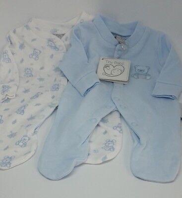 Popular Brand 2 Stk Frühchen Baby Schlafanzug Langarm Baby Jungen O. Mädchen Größe 44 Und 48