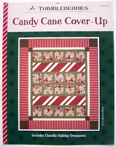 Thimbleberries Candy Cane Cover Up Quilt pattern