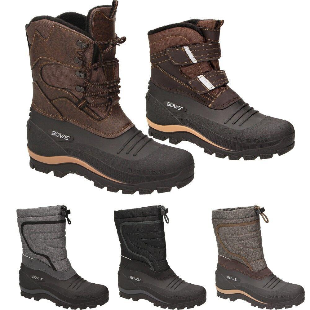 Bows ® bottes hommes bottes d'Hiver Neige bottes chaussures étanche snowbottes