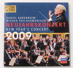 BARENBOIM-DANIEL-NEUJAHRSKONZERT-NEW-YEAR-039-S-CONCERT-2009-2-CD