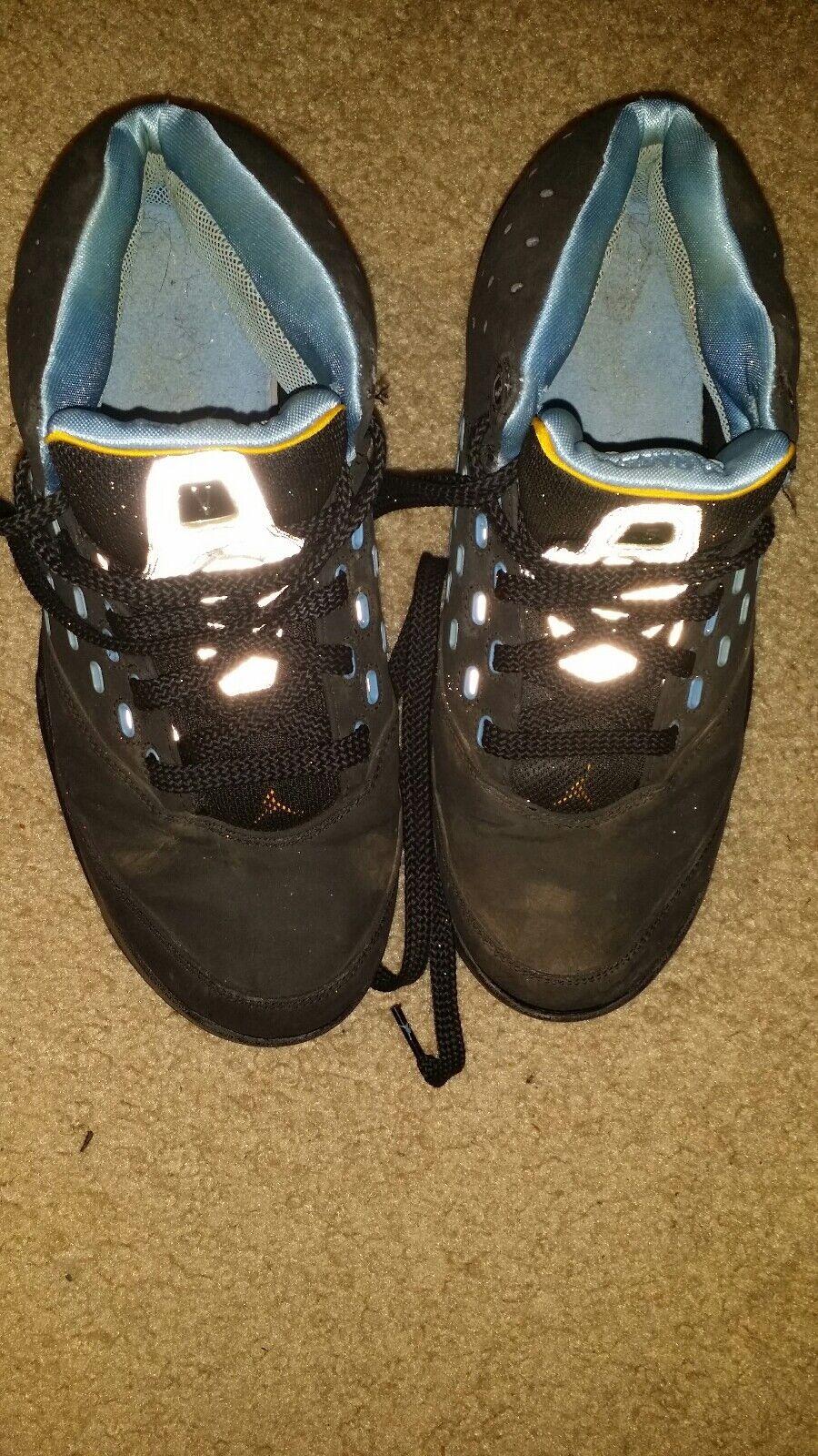 Air Jordan Melo Black Met bluee Silver Size 8 NO BOX 311813-001