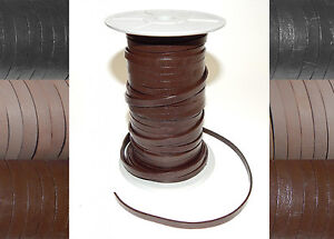 3mm 4mm 5mm 6mm FLAT 100% REAL ANTIQUE LEATHER STRAP THONG LACE CRAFT STRING