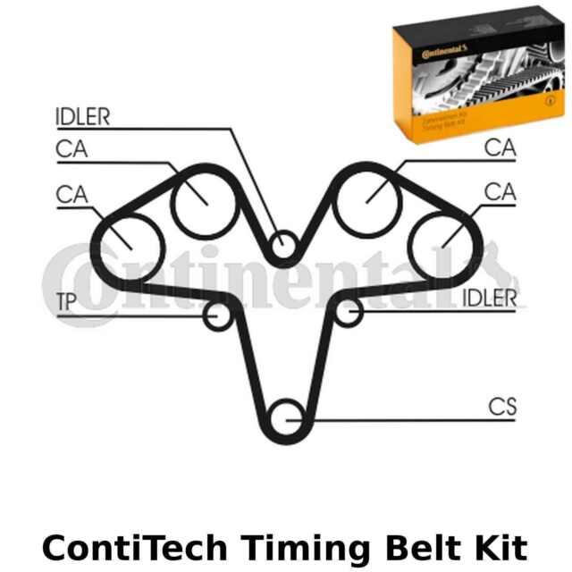 ContiTech Courroie de Distribution Kit - Pièce N° : CT1119K1 - 185 Dents - Orig.
