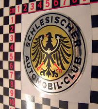 Vintage style foil club sticker for BMW 1602 2002 1502 Porsche 356 911 Isetta