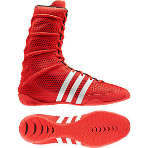 lowest price fb64c 22f12 Image is loading adidas-ADIPOWER-Boxing-Shoes-V24371