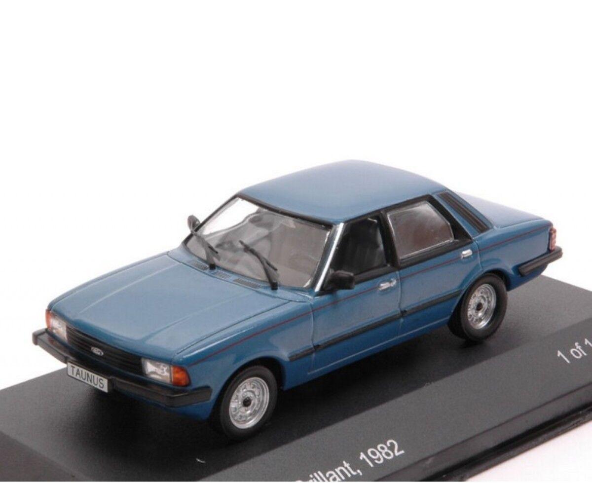 FORD TAUNUS TC2 1982 BRILLANT bleu blancBOX WB200 1 43 bleu BLEU TC 2 LHD CAR