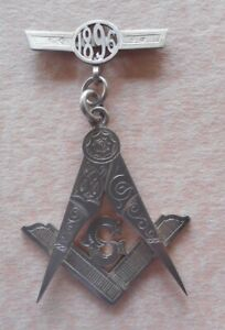 Masonic Jewel - Lodge No. 1896.