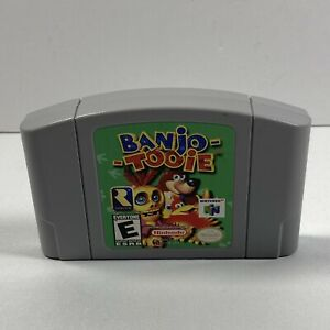 Banjo-Tooie (Nintendo 64, 2000) Cleaned / Tested / Authentic N64 Working