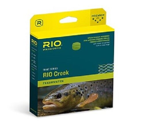 NEW RIO CREEK SPECIAL  WF-3-F WEIGHT FWD FLOATING FLY LINE GREEN YELLOW COLOR  buy 100% authentic quality