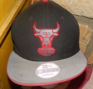 d2622db0a Details about Chicago Bulls Cap 9Fifty Original Fit Snapback Hat Windy City  NBA GUC