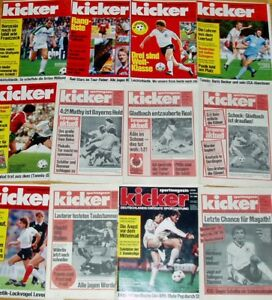 21-Kicker-1984-1985-Sportmagazin-Sportzeitung-Fussball-Zeitschrift-Sammlung-Heft