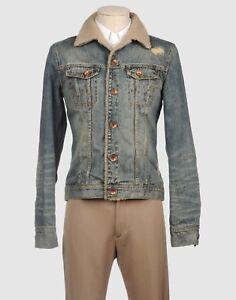 online retailer 6fe55 f44dd Dettagli su Giubbino jeans CLOSED mod.Sherpa Tg.S SALE -50% giubbotto  pelliccia fur jacket