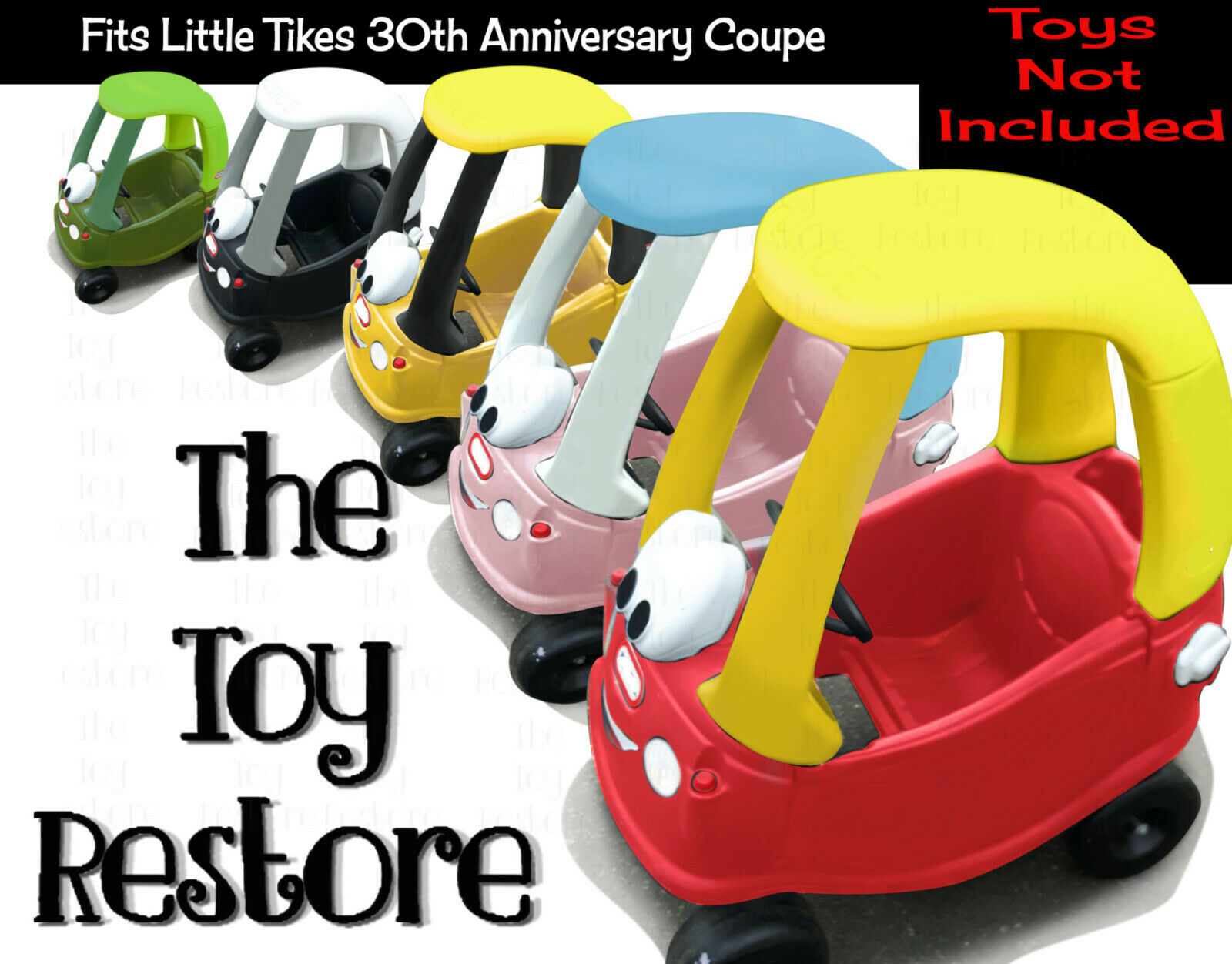 Replacement Decals Fits Little Tikes 30th Anniversary Cozy Coupe Police Badge For Sale Online Ebay [ 1252 x 1600 Pixel ]