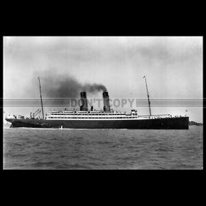 Photo B.000100 SS BERMUDIAN QUEBEC STEAMSHIP CO. 1905 PAQUEBOT OCEAN LINER