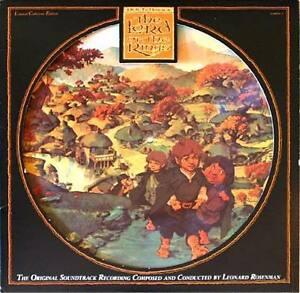 LORD-OF-THE-RINGS-SOUNDTRK-PICTURE-DISC-2LPs-Tolkien-amp-Bakshi-OPENED