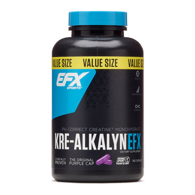 All American EFX - Kre-Alkalyn EFX Creatine, 750mg 120 caps