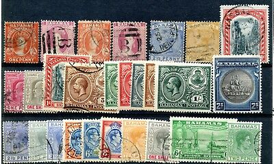 Bahamas (until 1973) Mint And Used 1860's-1940's Collection Cv $385.90+ Helpful Weeda Bahamas 20/69