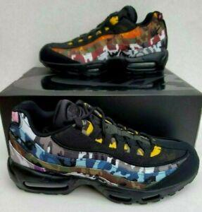 quality design c6ef1 facc6 Details about New Nike Air Max 95 ERDL Party Black Multi Color Camo SZ 10  AR4473 001 Athletic