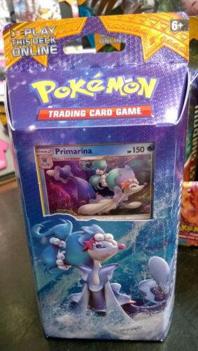 Pokemon Sun & Moon Primarina Theme Deck trading cards sealed box new Free Post