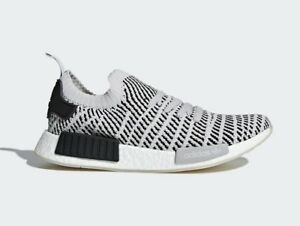 Adidas Men's NMD_R1 STLT PRIMEKNIT Shoes Grey/Black CQ2387 c