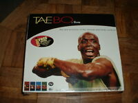 Billy Blanks Tae Bo Live 4 Vhs Tape Set And Sealed