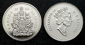 Canada-2000-Proof-Like-Gem-Fifty-Cent-Piece
