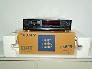 Sony DTC-690 DAT-Recorder in OVP inkl. FB&BDA, 2 Jahre Garantie