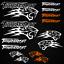 Thundercat-stickers-decal-snowmobile-arctic-cat-snowboard-quad-tuning-helmet miniature 17