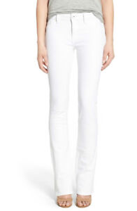 5ddf08ef887 Image is loading NWT-DL1961-ELODIE-INSTASCULPT-WHITE-MILK-BOOTCUT-STRETCH-