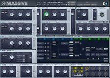 Native Instruments NI MASSIVE VST Largest Sound Library - 70,000+  Program Patch
