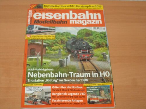 Eisenbahn Modellbahn Magazin + 16 Seiten Extra Ausgabe 5 Mai 2019 Neuwertig!