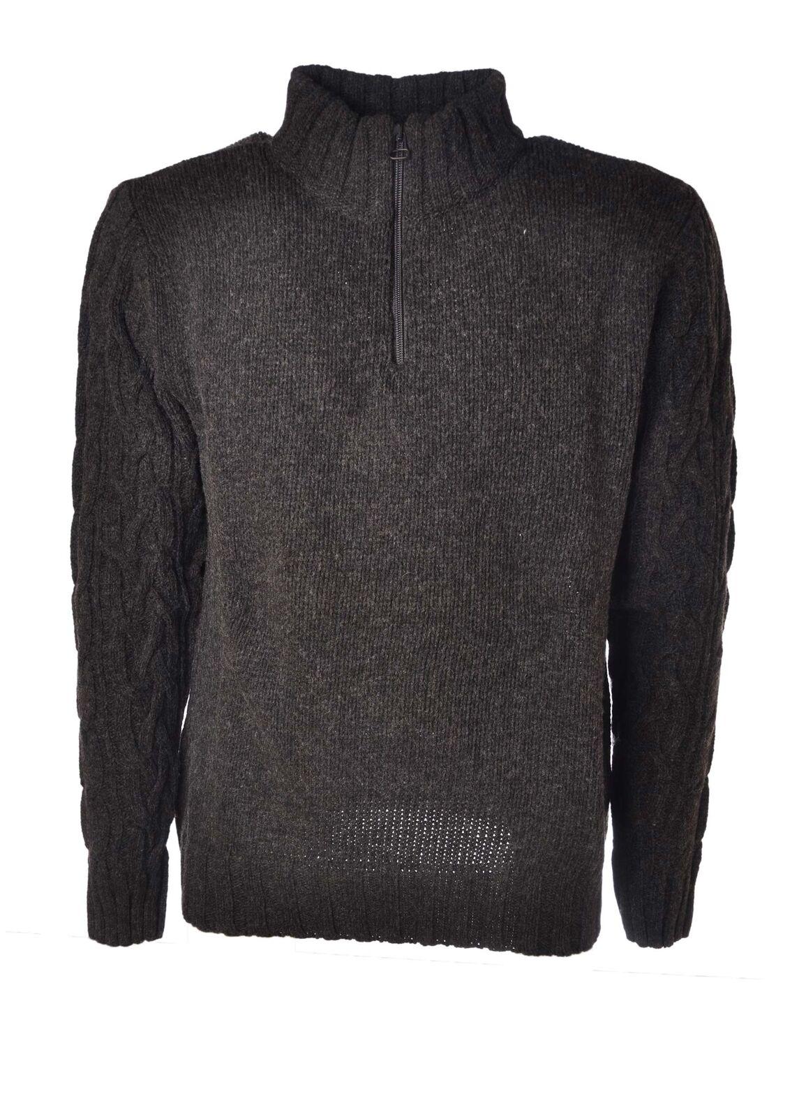 Brooksfield - Knitwear-Sweaters - Man - Grau - 4530113L184209