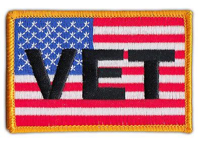 Weste Aufnäher Motorrad Motorradjacke Vereinigte Staaten Flagge Usa militär Seien Sie Im Design Neu