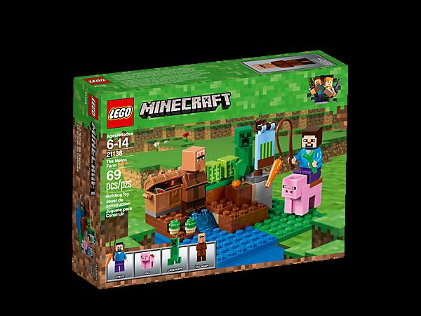 [LEGO] N 21138 Minecraft The Melon Farm