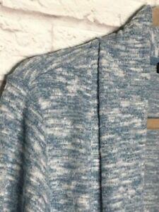 XL//1X//2X//3X New Jet Black Duster Cardigan Top Jacket Blazer Tee Knit Sweater