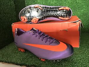 the best attitude e9df0 020ac Image is loading NIKE-MERCURIAL-VAPOR-PINK-BERRY-R9-FG-SUPERFLY-